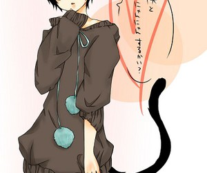anime, neko, and boy image