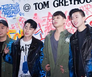 gray, hiphop, and loco image