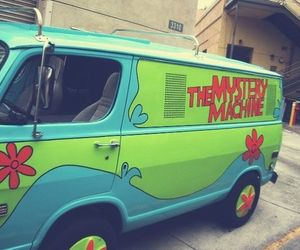 scooby doo, scooby-doo, and the mystery machine image