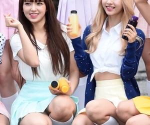 jiyeon, chengxiao, and bona image