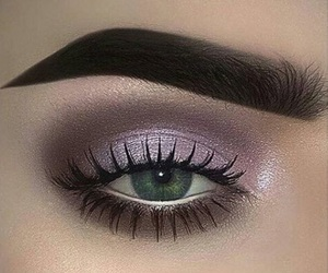 eyes, maquillaje, and makeup image