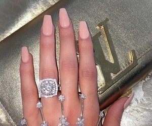 nails, fashion, and luxury image