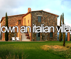 Dream, italian villa, and italy image