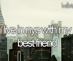nyc, new york, and best friends image