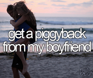 bucket list, piggyback, and before i die image