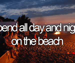 beach, before i die, and night image
