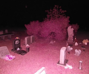 black, cemetery, and dark image
