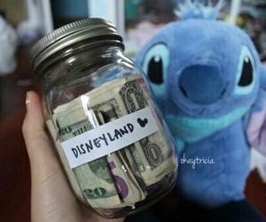 disney, money, and stitch image