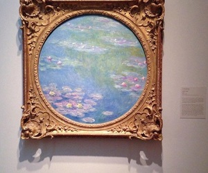 aesthetic, monet, and water lilies image