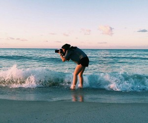 beach, memories, and moments image