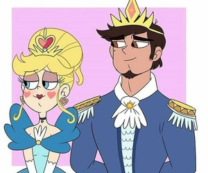 forever, starco, and 👑 image