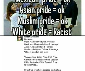 racism and pride image