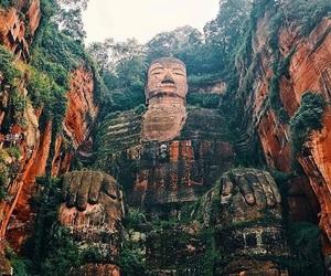 travel, Buddha, and china image