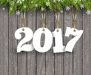 wishes and 2017 image