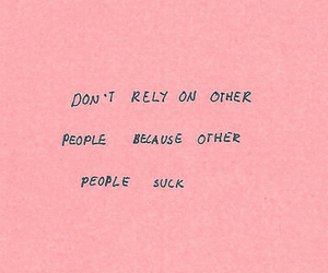quotes, pink, and people image