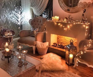 beautiful, room, and warm image