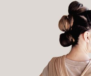 rey, star wars, and hair image
