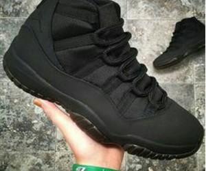 shoes, jordans, and black image