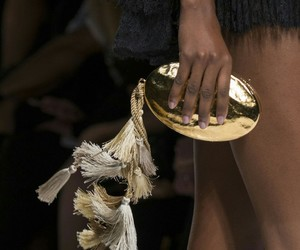 fashion, feathers, and clutches image