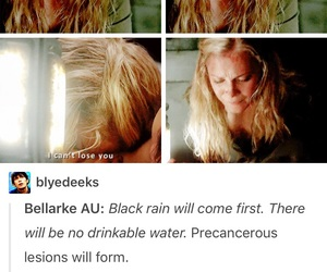 cw, the 100, and eliza taylor image