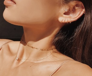 accesories, fashion, and neck image
