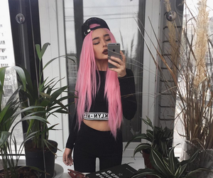 pink, fashion, and girl image