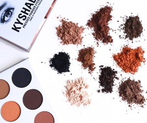 makeup, kylie cosmetics, and kyshadow image