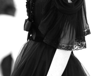 dress, black, and gothic image