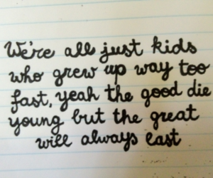 Forever Young, kids, and Lyrics image