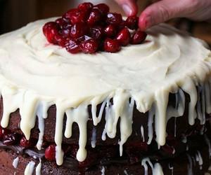 berries, cake, and chocolate image