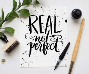 quotes, real, and perfect image