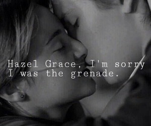 augustus, hazel, and quotes image
