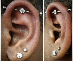 ear, earlobe, and industrial image
