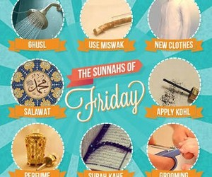islam, friday, and muslim image