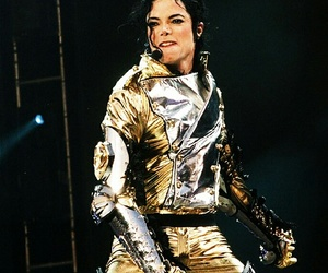 gold pants, mikezilla, and michael jackson image