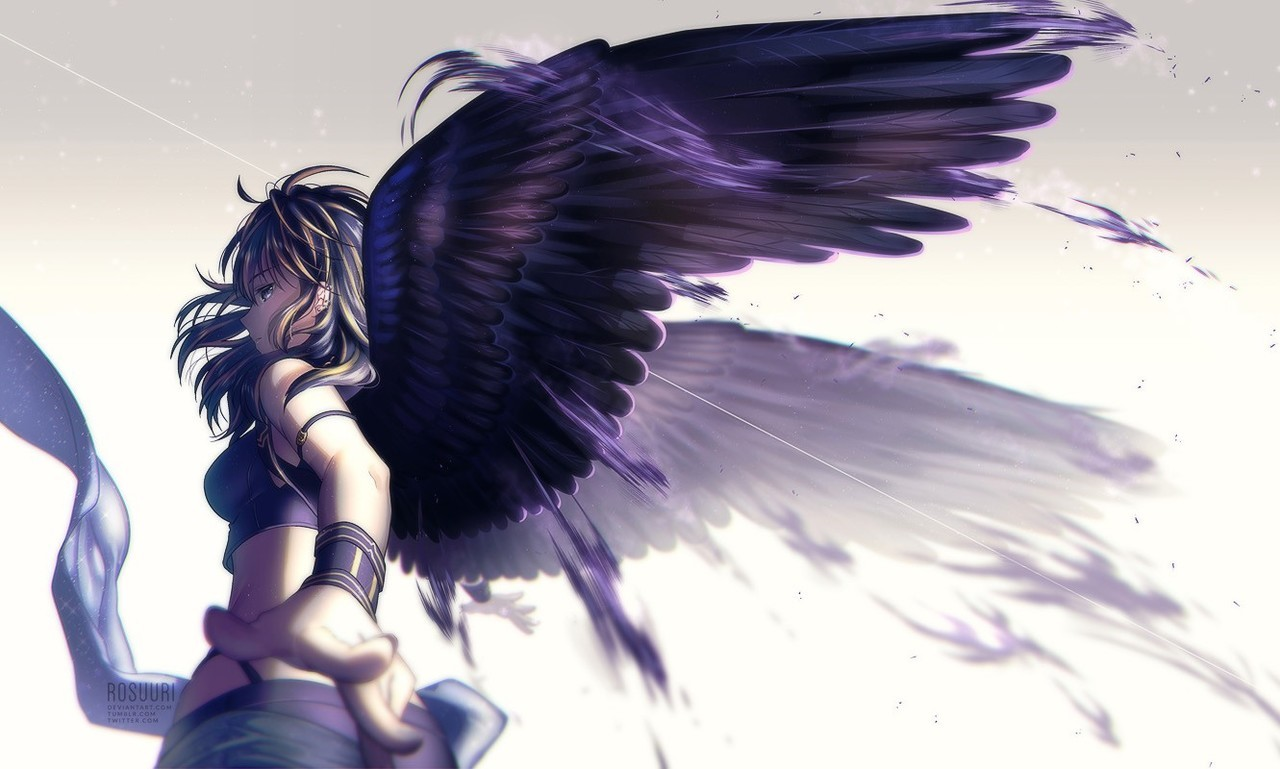 Wallpaper Dark Angel Discovered By Norichii On We Heart It
