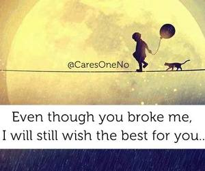 broke, lovely, and care image