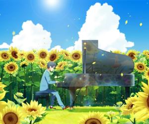 anime, arima kousei, and miyazono kaori image