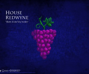 game of thrones, house tyrell, and house redwyne image