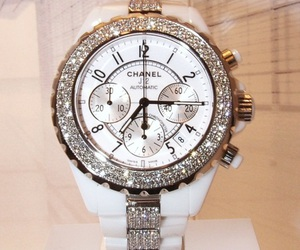 watch, chanel, and white image