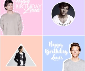 louis tomlinson, myedit, and happy birthday louis image