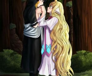 fairy tail, mavis, and zeref image