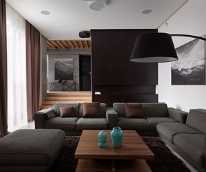 decor, living room, and design image