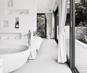 bathroom, interior, and white image