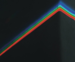 light, music, and Pink Floyd image
