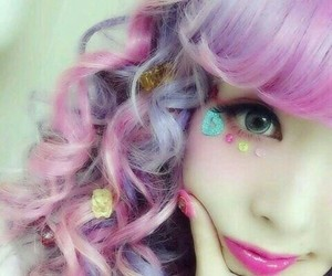 curly hair, cutie, and lolita image