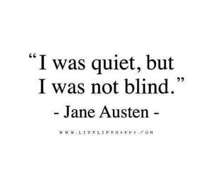 quotes, quiet, and blind image