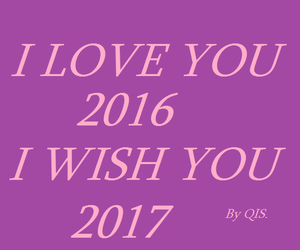 2016, 2017, and love image