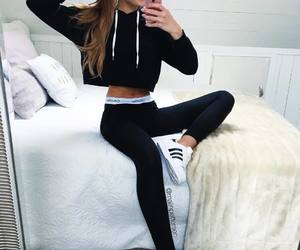 adidas, sporty, and cute image