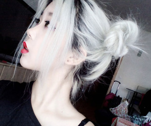 ulzzang, asian, and hair image